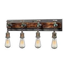 """ELK Lighting 14283/4 Vanity-Lighting-fixtures, 8 x 26 x 6"""", Rust - $468.00"""