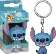 Walt Disney Lilo & Stitch, Stitch Seated Figure Pocket Pop! Key Chain NEW UNUSED - $4.99