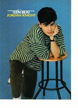 Jordan Knight Neil Patrick Harris teen magazine pinup clipping New Kids leaning