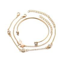 Boho Small Horse Bracelet Bangle Set Gold Silver Color Bohemian Jewelry ... - $7.79