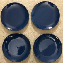 "Royal Norfolk 10 1/2"" Dinner Plates Set Of 4 Royal Blue(New)SHIPS N 24 H... - $48.88"