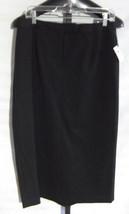 NWT Talbots Petites Black Polyester Long Skirt Misses size 12P - $31.68
