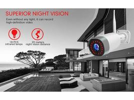 Mibao Outdoor Security Camera Compatible with iOS/Android #P450 image 3