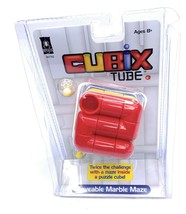 Cubix Tube Moveable The Marble Maze Toys Fun Puzzle - $14.84