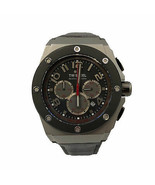 TW Steel Grey Chronograph Dial Stainless Steel Quartz Mens Watch CE4001 - £192.54 GBP