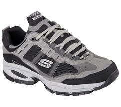51241 EW CCBK Wide Width Skechers shoes Men's Memory Foam Sport Comfort ... - £38.98 GBP