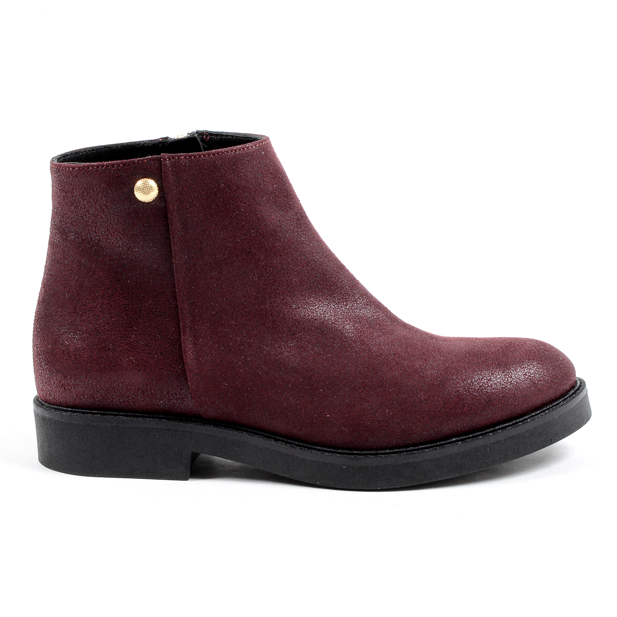 Primary image for V 1969 Italia Womens Ankle Boot Bordeaux TILLY