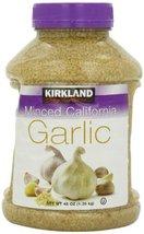 Kirkland Minced California Garlic, 48 oz - $20.59