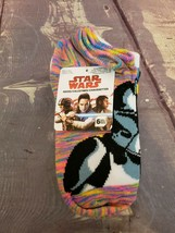 Disney Star Wars Girls No Show Ankle Socks 6 pairs Size M Youth (9- 2.5) - $6.64