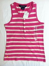 RALPH LAUREN GIRLS NEW MULTICOLOR 100%COTTON SLEEVELESS TOP SIZE: 6X - $23.36