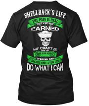 Shellback Respect Hanes Tagless Tee T-Shirt - £17.56 GBP