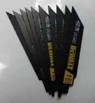 "DEWALT DWA4186N10 6"" x 14/18-TPI Metal Cutting Reciprocating Saw Blade 10-Pack - $21.78"