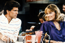 Ted Danson And Shelley Long In Cheers Talking Over Bar 24x18 Poster - $23.99