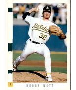 Bobby Witt 1993 Score Card #150 - $0.99