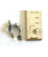 Vintage FABLE Signed Dragon Wyrm Mythical Brooch / Pin or Single Earring... - $12.99