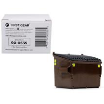 Refuse Trash Bin Brown 1/34 Diecast Model by First Gear 90-0535 - $16.99