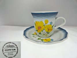 Mikasa Amy CA 503 Cup and Saucer - $10.99