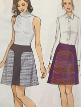 Vogue Sewing Pattern 9132 Misses Skirt Size 6-14 New - $16.79