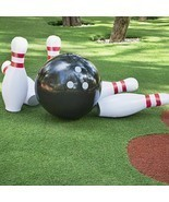 Novelty Place Giant Inflatable Bowling Set for Kids Outdoor Lawn Yard Ga... - £31.58 GBP