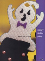 Giddy Ghost, BYOB Halloween Single Plastic Canvas Pattern Build Your Own... - $1.95