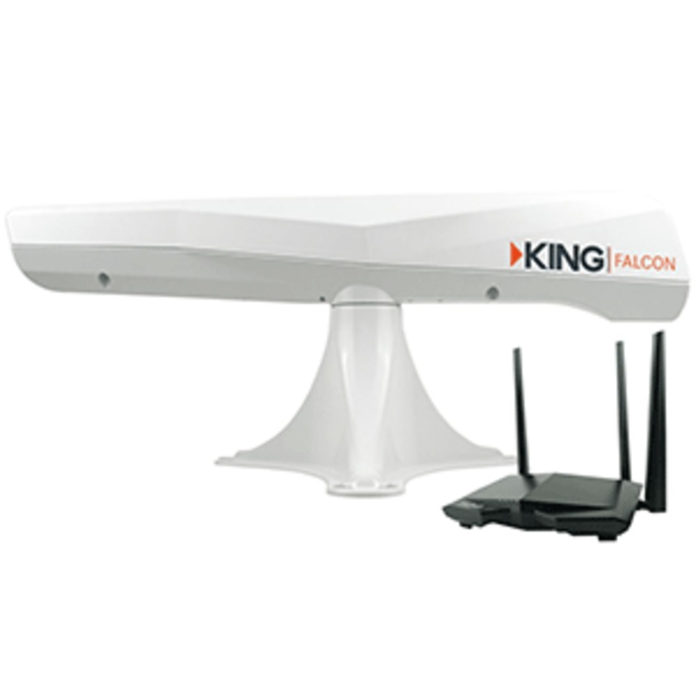 KING Falcon™ Directional Wi-Fi Extender - White