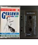 Gershwin Greatest Hits Audio Cassette Boston Pops Fiedler Nero Wild - $9.85
