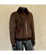 Dolce & Gabbana Lamb Skin Leather Bomber Jacket Men's Size 50 Wool Linin... - $791.99