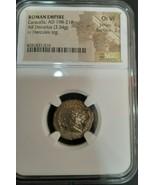 Roman Empire Caracalla AD 198-217 AR Double Denarius NGC Ch VF Choice St... - $239.12