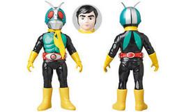 Medicom Toy Toei R  Etro Soft Vinyl Shocker Rider One Fence Kamen - $163.82