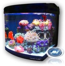 JBJ Nano Cube 24 Gallon Standard Deluxe Aquarium Live Plant Coral Fish Tank - $222.51