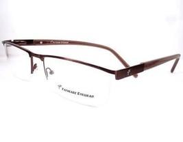 Fathead Eyeglasses capitol XL Brown Frames 62-19-150 Eyewear - $89.09