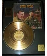 Star Trek Classic TV Series Soundtrack Volume 1 Gold Plated - $241.87