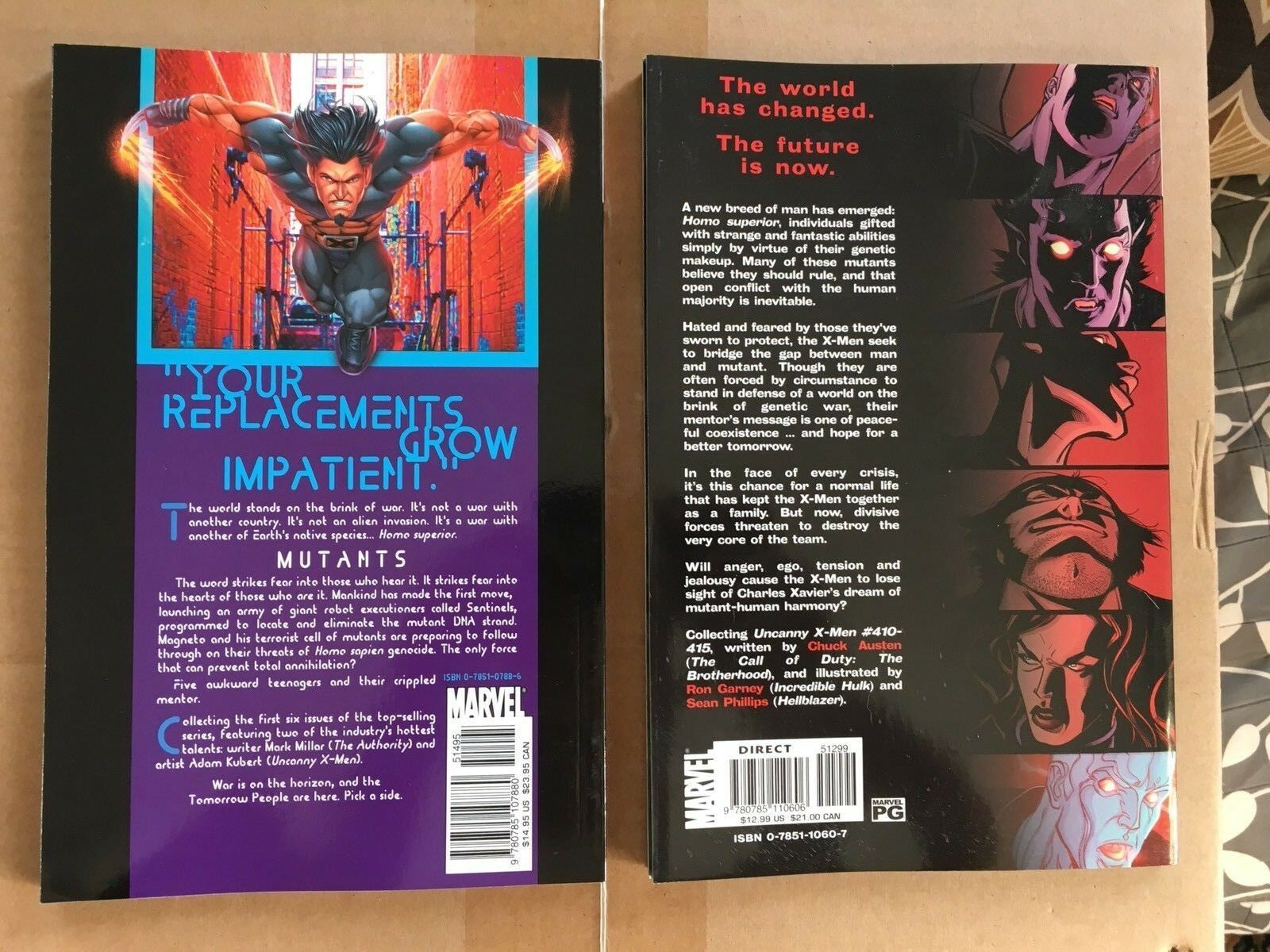 Uncanny X-Men Hope & Ultimate X-Men Tomorrow People Marvel Comic Book VF
