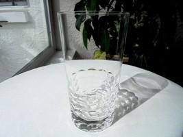 "Hoya Candlewood Pattern High Quality Clear Crystal Highball Glass 5 1/2"" Tall - $11.88"