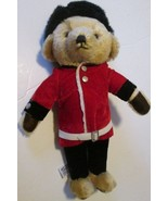 "Harrod's Mohair Plush British Royal Palace Guard Teddy BEAR 13"", MERRYTH... - $49.99"