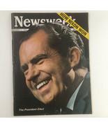 Newsweek Magazine November 11 1968 The President Elect Richard Nixon No ... - $37.95