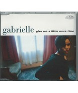 GABRIELLE - GIVE ME A LITTLE MORE TIME / SO GLAD 1996 UK 4 TRACK CD SINGLE - $11.47