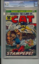 CLAWS OF THE CAT #4 CGC 9.2 LAST ISSUE TIGRA - $81.85