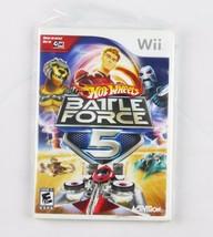 Nintendo Wii Hot Wheels Schlacht Force 5 Videospiele - $17.30