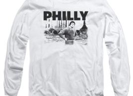 Rocky Movie Philly Retro 70's 80's Rocky Balboa long sleeve graphic Tee MGM384 image 2
