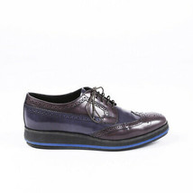 Prada Leather Platform Brogues SZ 38 - $285.00