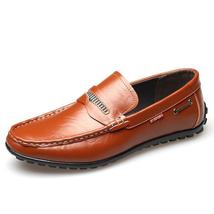 Soft Genuine Leather Loafers Bottom Casual RBwqUU