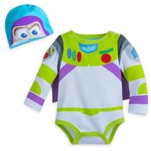 New Disney Toy Story Buzz Lightyear Costume Bodysuit for Baby Sz 12-18 18-24 Mos - $24.99