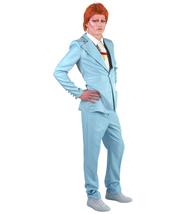 Adult Men's Deluxe Costume for Cosplay Singer Bowie Party Suit - £49.34 GBP
