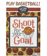 Play Basketball Post Stitches cross stitch chart Sue Hillis Design - $5.40