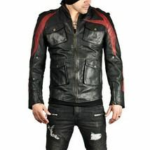 Prototype 2 James Heller Alex Mercer Black Leather Jacket Costume - $74.24+