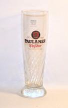 Paulaner Munchen Weissbier Swirled Beer Glass G... - $7.43