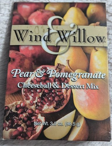 Wind And Willow Pear And Pomegranate Cheeseball and Dessert Mix