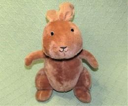 "Kohls Cares 8"" Brown Rabbit We Are Going On An Egg Hunt Stuffed Animal Long Ears - $7.62"