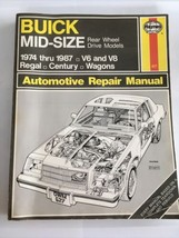 Haynes 627 Owners Auto Repair Manual for Buick Midsize 1974-1987  Regal ... - $17.99